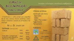 panfleto Curso de Bioconstrução