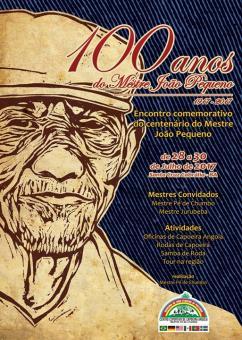 panfleto 100 anos do M. João Pequeno