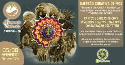 panfleto Imersão Curativa - Colar Mandala