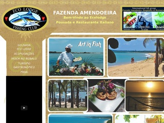 panfleto Fazenda Amendoeira - Turismo Gastronômico