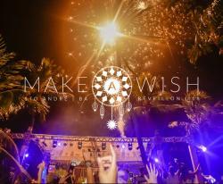 panfleto Réveillon Make a Wish - ROBIN SCHULZ