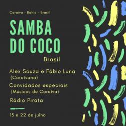 panfleto Samba do Coco