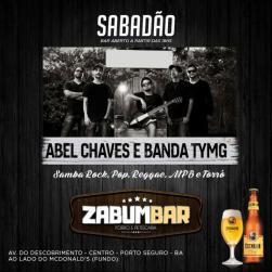 panfleto Abel Chaves e Banda Tymg