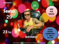 panfleto DJ Brinko