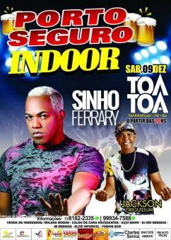 panfleto Porto Seguro Indoor - Sinho Ferrary