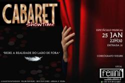 panfleto Cabaret Showtime