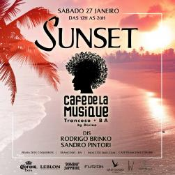 panfleto Sunset Sessions