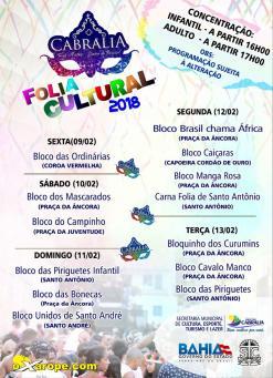 panfleto Carna Folia de Santo Antônio
