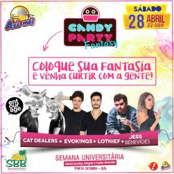 panfleto SBB Folia - Candy Party