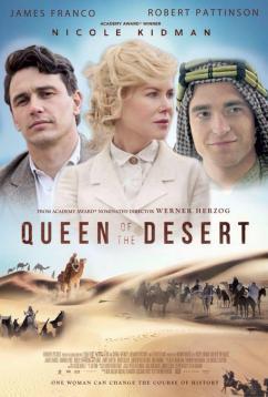 panfleto 'Rainha do Deserto'