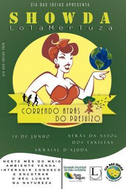 panfleto Show da Lola Merluza - 'Correndo atrás do Prejuízo'