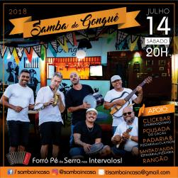 panfleto Samba do Gonguê