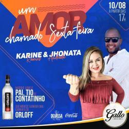 panfleto Karine Ramos e Jonatas Andrade