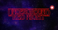 panfleto Underground Red Night