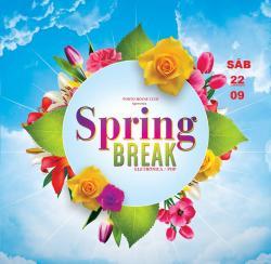 panfleto Spring Break