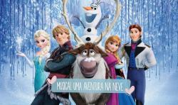 panfleto Musical 'Uma Aventura na Neve'