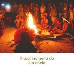 panfleto Ritual indigena Pataxó - Eclipse Total da Lua