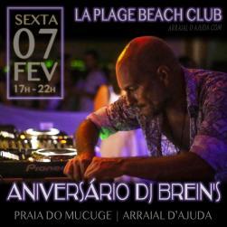 panfleto Aniversário DJ Brein's