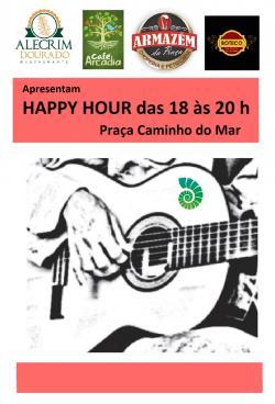 panfleto Happy Hour