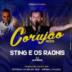 panfleto Sting e Os Raonis