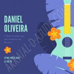panfleto Daniel Oliveira