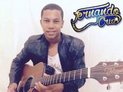 panfleto Fernando Cruz e banda
