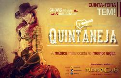 panfleto Quintaneja com Walber Luiz