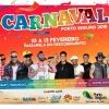 panfleto Carnaval Porto Seguro 2018 - Parangolé, Pisirico, Gustavo Lima