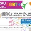 panfleto Sarau Cultural LGBT+