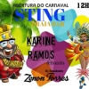 panfleto Karine Ramos & DJ Zenon