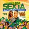 panfleto Karine Ramos e Ebert Rodrigues