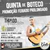 panfleto Quinta de Boteco - Thiago Alcântara