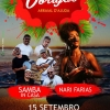 panfleto Samba InCasa + Nari Farias