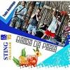 panfleto A Banda da Praia & DJ Zenon