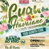 panfleto Luau Havaiano