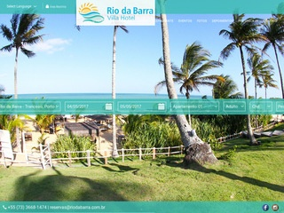 panfleto Bar e Restaurante Rio da Barra