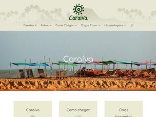 panfleto Caraíva - BA