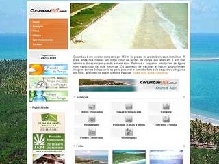 panfleto Corumbau -Paraíso Ecológico entre Reservas