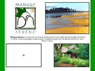 panfleto Mangue Sereno