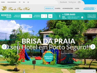 panfleto Hotel Brisa Da Praia