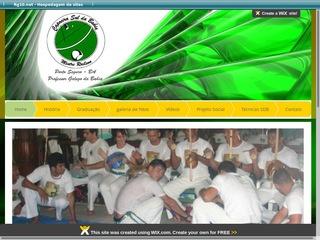 panfleto Capoeira Sul da Bahia