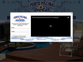 panfleto Porto Piscinas