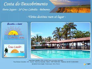 panfleto Baia Cabrália Hotel