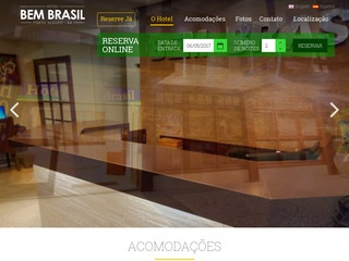 panfleto Hotel Bem Brasil