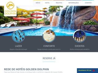 panfleto Golden Dolphin Porto Seguro Resort