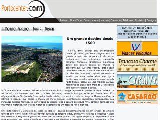 panfleto Portocenter.com - Hospedagem de Sites
