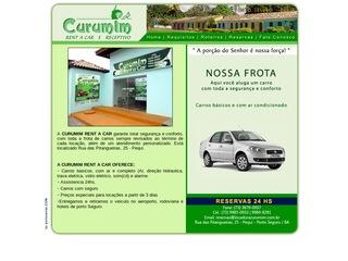 panfleto Curumin Rent a Car