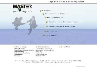 panfleto Master Representações