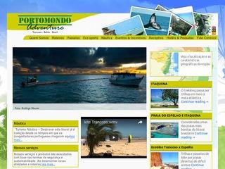 panfleto Portomondo Adventure - Náutica e Ecoturismo