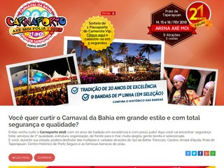 panfleto Carnaval Axé Moi 2019 - Axé Moi Folia